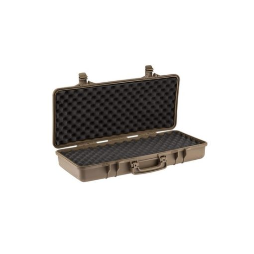 Valise transport tan polymere pour Airsoft 72 cm