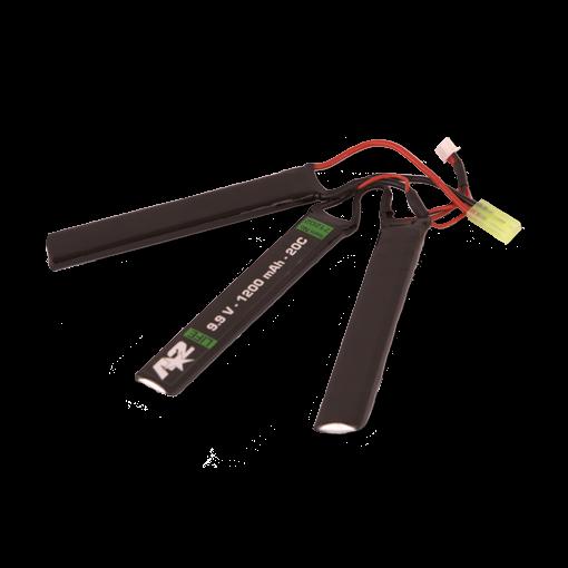 Batterie A2 LiFe 9.9V 1200 mAh 20C Triple Stick