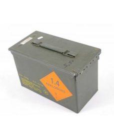 Caisse militaire Airsoft de munitions 28x18x15 métal
