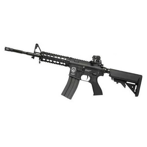 réplique Fusil CM16 Raider Long AEG noir complet G&G