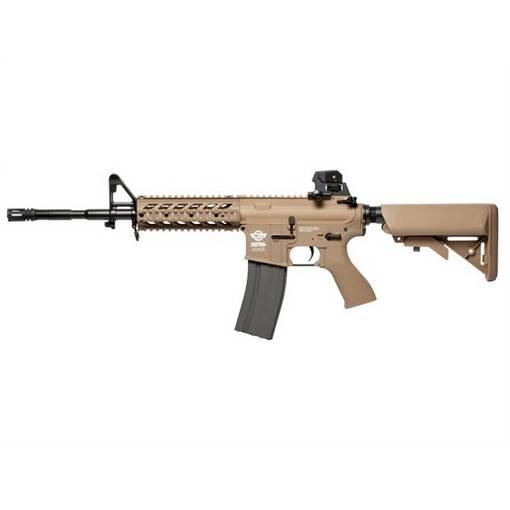 réplique Fusil CM16 Raider Long AEG tan complet G&G