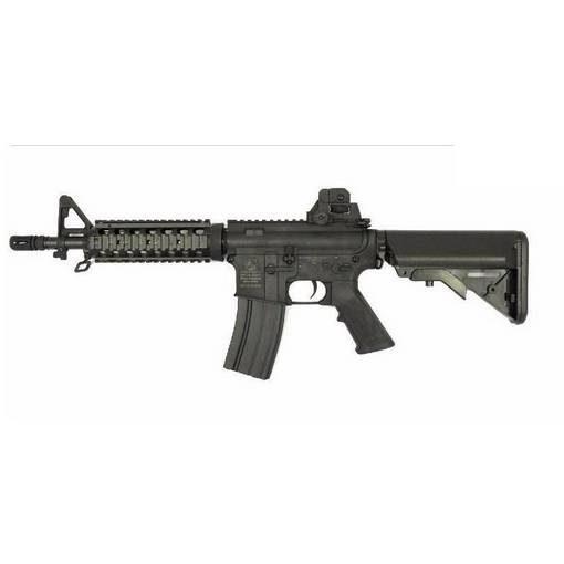 réplique Fusil Colt M4 AEG CQB RIS Nylon Fibre metal 2 chargeurs