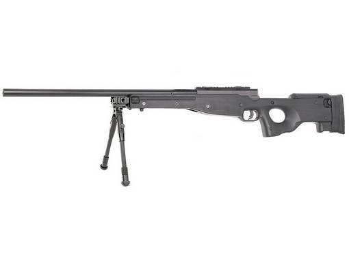 Fusil de sniper spring Mauser SR Cybergun avec bipied