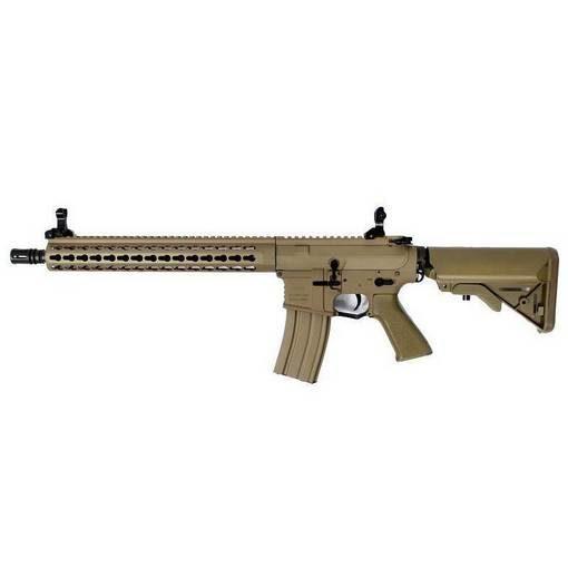 réplique Fusil M4 ARS4-13 metal keymod Classic Army tan