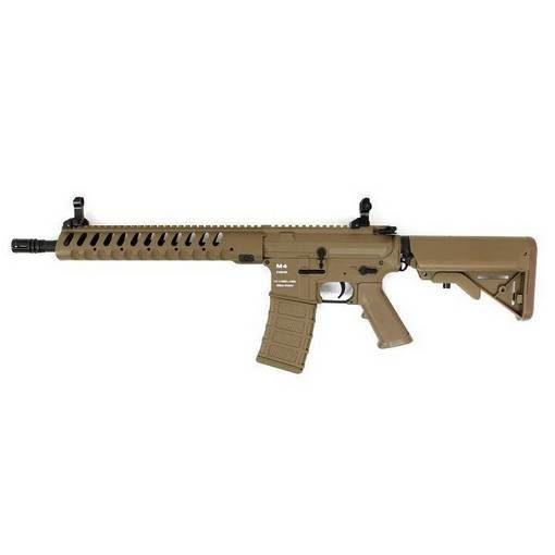 réplique Fusil M4 CA4 Delta12 Fibre Classic Army Dark earth Complet