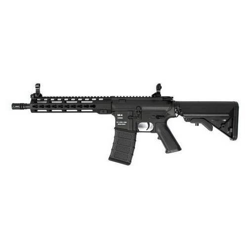 Fusil M4 CA4 KM10 Keymod Classic Army noir complet