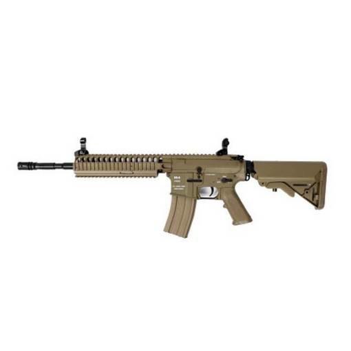 réplique Fusil M4 CA4A1 EC2 RIS fibre Classic Army Dark Earth complet