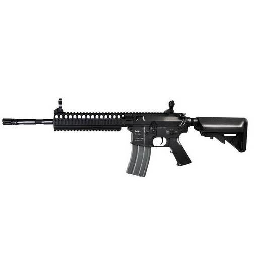 réplique Fusil M4 CA4A1 EC2 RIS fibre Classic Army noir complet