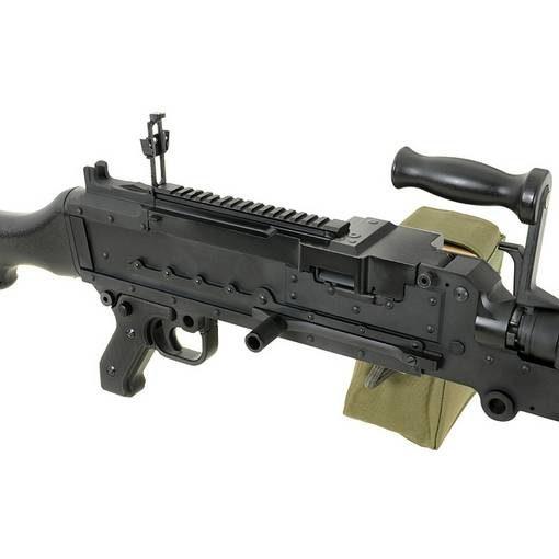 réplique Mitrailleuse M240 metal AEG Golden Eagle