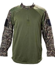 Pull militaire Airsoft Woodland digi XL