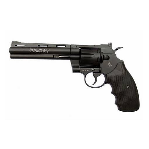 Révolver Colt Python Canon 6'' Noir CO2 KWC