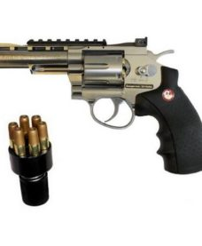 Révolver Ruger Superhawk chrome canon 4'' CO2 Umarex