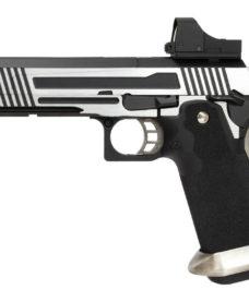 Pistolet Armorer Works Hicapa 5 1 split slide et red dot GBB
