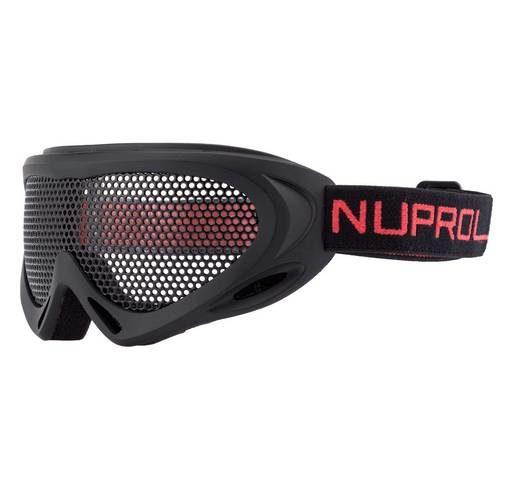 Masque tactique Airsoft grillage Nuprol noir