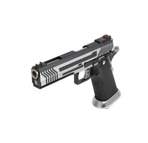 Pistolet Armorer Works Hicapa 5.1 Full slide-argenté GBB
