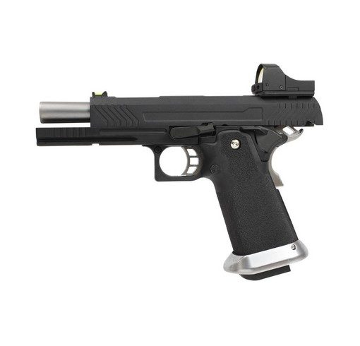 Pistolet Armorer Works Hicapa 5.1 Full slide+red dot Black GBB