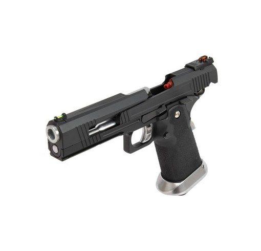 Pistolet Armorer Works Hicapa 5.1 split slide-noir GBB