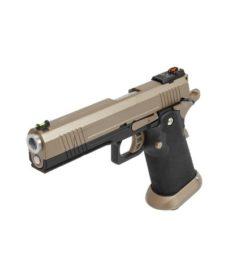 Pistolet Armorer Works Hicapa 5.1 split slide-tan GBB