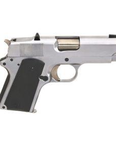 Pistolet Army 1911 Detonics Compact R45 Full metal Argenté GBB