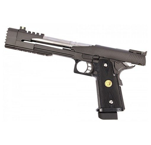 Pistolet Black Dragon 7.0 Bversion GBB noir gaz WE