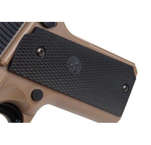 Pistolet Colt 1911 Spring tan-noir Academy