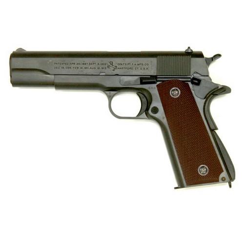 Pistolet Colt M1911 A1 Cal 45 GBB Tokyo Marui