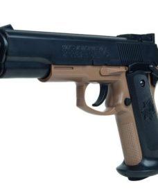 Pistolet Colt MK IV tan-noir spring Academy