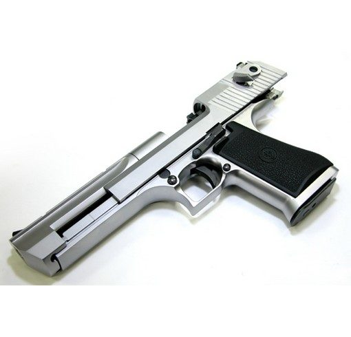 Pistolet Desert Eagle .50 AE chrome GBB Tokyo Marui