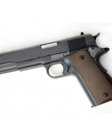 Pistolet Dueller 1911 double canon noir GBB WE