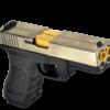 Pistolet Dueller G17.3 double canon argent GBB WE