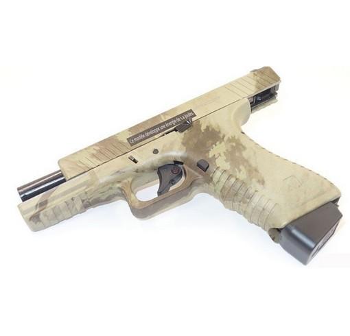 Pistolet G17 APS CO2 GBB V2 Atacs AU