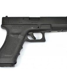 Pistolet G17 Gen3 GBB culasse métal WE