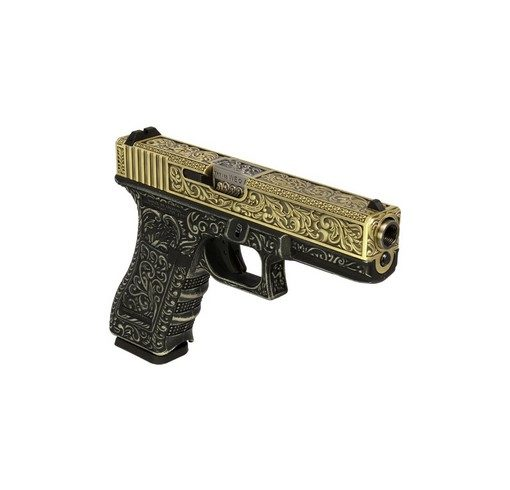 Pistolet G17 Gen4 classic pattern ivoire GBB WE
