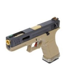 Pistolet G18C Gforce T6 noir or tan GBB WE