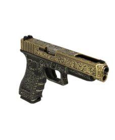 Pistolet G35 Classic pattern ivoire GBB WE