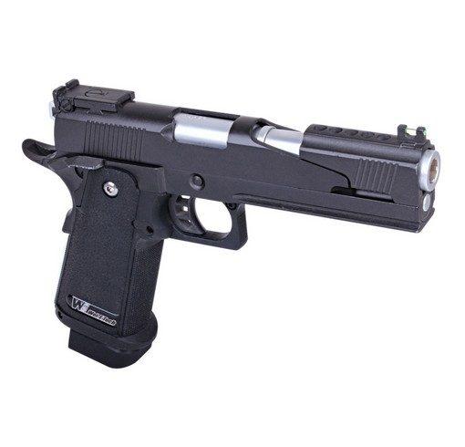 Pistolet Hi Capa 5.1 Version A GBB Noir Gaz WE