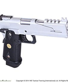 Pistolet Hi Capa 5.1 Version B GBB chrome Gaz WE