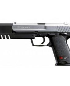 Pistolet H&K USP Match bicolore ressort Umarex