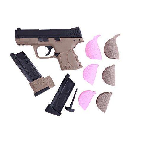 Pistolet M&P COMPACT GBB tan WE