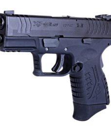 Pistolet XDM ultra compact 3.8 GBB noir 2 chargeurs WE