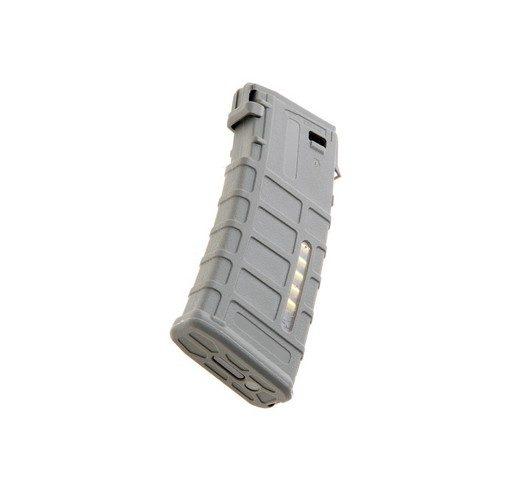 Chargeur AEG M4 Airsoft PMAG M120 Gris