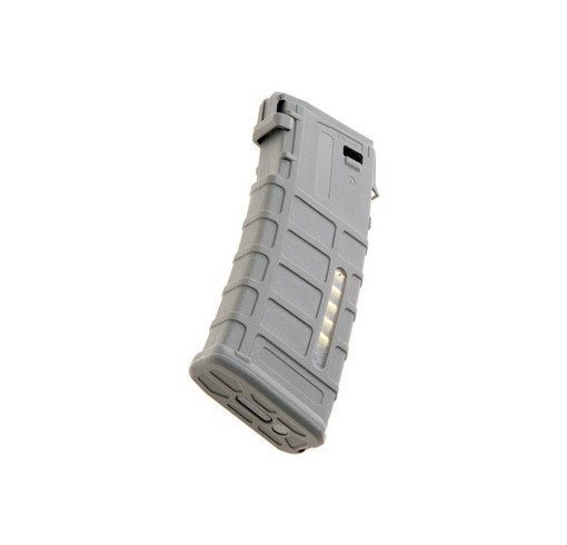 Chargeur AEG M4 Airsoft PMAG M120 Gris