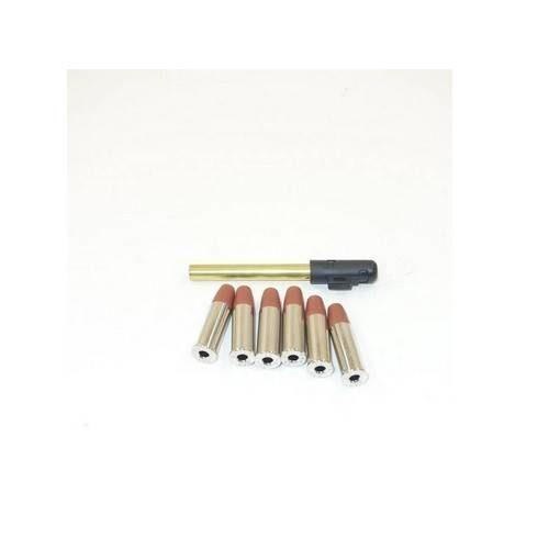 """6 douilles Python 357 Magnum avec canon 4"""""""
