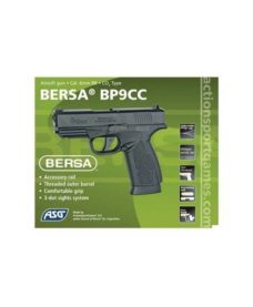 Bersa BP9CC Airsoft métal CO2