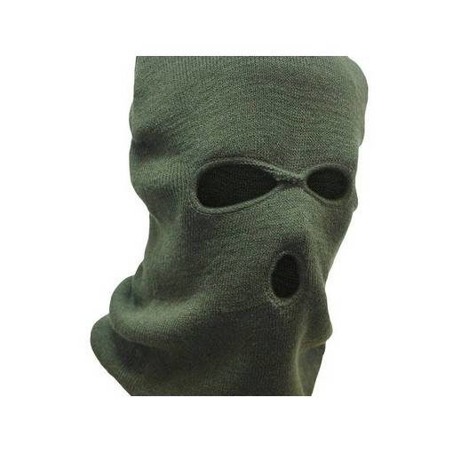 Cagoule Airsoft 3 trous Olive