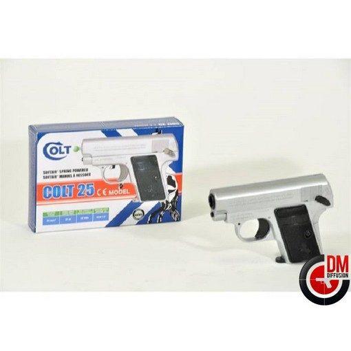Colt 25 chromé Airsoft