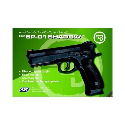 CZ 75 SP-01 Shadow Airsoft CO2