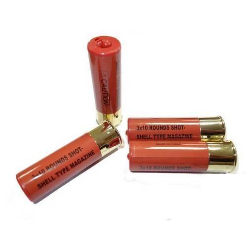 Douilles fusil à pompe 30 billes (x4)