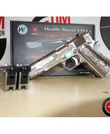 Dueller 1911 Double canon WE Floral Pattern GBB