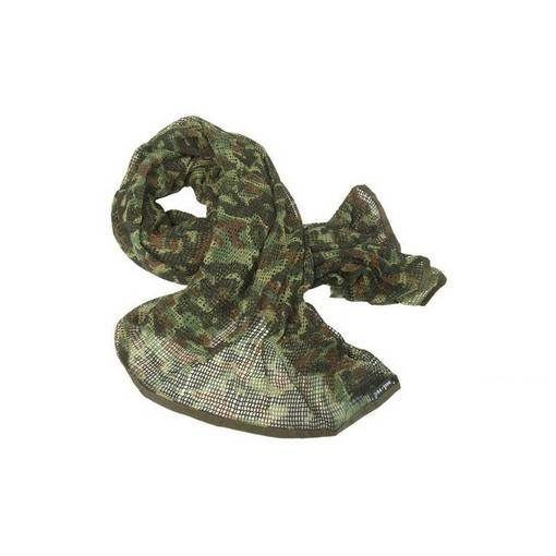 Echarpe Airsoft filet Flecktarn 190x90 cm